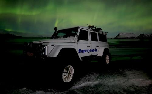 Northern Lights Superjeep Tour, Aurora Borealis